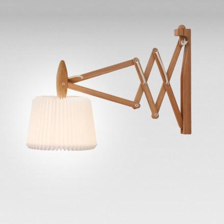Le Klint - Le Klint 335-120 Saxlampe Plastskærm 60 cm, lys eg