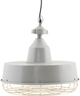House Doctor - Gasby Loftslampe 60W, Grå/Messing