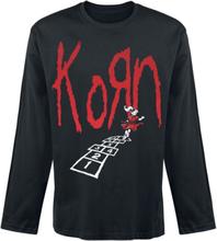 Korn - Hopscotch Tracklist -Langermet skjorte - svart