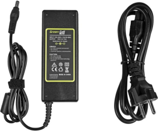 Green Cell PRO laddare / AC Adapter till Asus K50IJ K52 X53S K53S Toshiba Satellite A200 A300