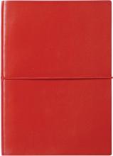 Ordning & Reda - O&R Jorgen Notesbog A6, Blank, Rød