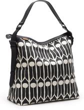 Littlephant - Feathers Messenger Bag, Sort/Hvid