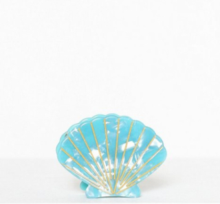 Pieces Pcbella Seashell Hairclip Beach Øvrige smykker Turkis