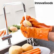 Rengöring och skalning av handskar för frukt och grönsaker