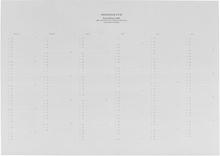 Monograph - Almanakk 2018, A3, 21x11x3 cm