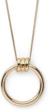 Pilgrim - Trinity Halskæde 80cm, Guld