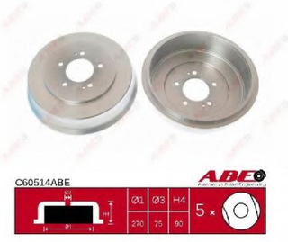 Bremsetrømmel ABE C60514ABE