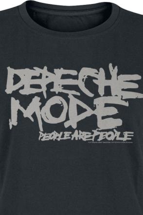 Depeche Mode - People Are People -T-skjorte - svart