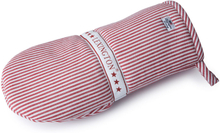 Lexington - Oxford Striped Grillhandske, Rød