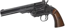 Schofield Revolver - 6quot; - Black Wood