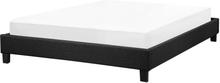 Sänky 140x200 cm harmaa ROANNE