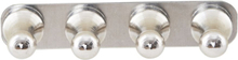 Monograph - Knob magneter 4-pak, sølv