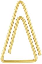 Monograph - Clip Triangel Gem 15-pk, Messingfarget