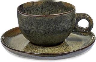 Serax - Surface Cappuccino Kop Med Underkop, Indi Grey