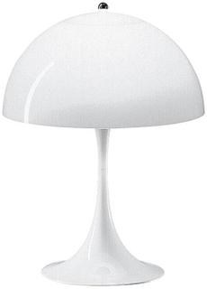 Louis Poulsen - Panthella Bordlampe, Hvid opal/akryl