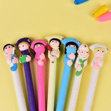 5st Karaktär Läkare Sjuksköterska Polymer Caly Ball Ballpoint Pen Cre