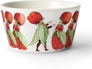 Design House Stockholm - Elsa Beskow Skål Strawberry Family 50cl