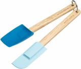 Kitchen Craft Slickepott och slev, mini, blå