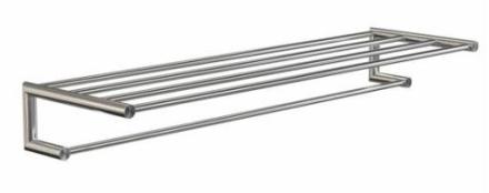 Frost Nova2 Håndkle Hylle 1000x300 mm, Rustfritt stål