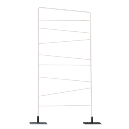 SMD Design - Trellis Spalje 150x60cm, Hvid