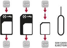 Celly SIM-kortin Sovitinsarja Yleismaailmallinen