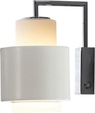 Herstal - Y1949 Vegglampe, Hvit/Krom