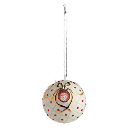 Alessi - San Bambino Home Ornament, Hvit