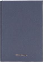 Monograph - Ruled Notesbog 80 Sidor, Grå