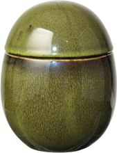 Broste Copenhagen - Curves Box 15 cm, Oil Green