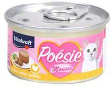 Vitakraft - Poesie Mousse kurczak mokra karma dla kotów w post...