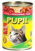 Pupil - Classic mokra karma dla kota z wołowiną