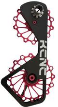 KCNC Jockey Wheel System SUS för Shimano 10S/11S 14+16 tänder red 2019 Tillbehör till drev & lager