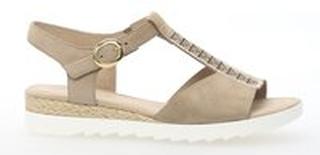 Düne(Jute/Strass) Gabor sandal