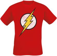 The Flash - Lightning Bolt -T-skjorte - rød