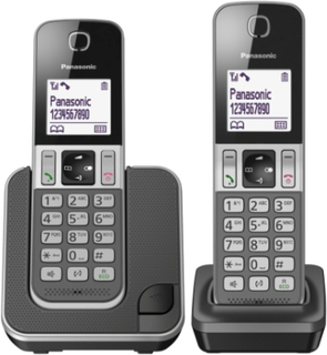 Panasonic Wireless Phone Duo KX-TGD312 Grey