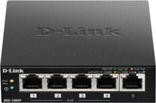 D-Link 5-Port Desktop Gigabit PoE+ Switch