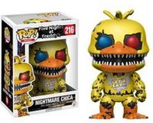 Five Nights at Freddy's Nightmare Chica Pop! Vinyl Figur