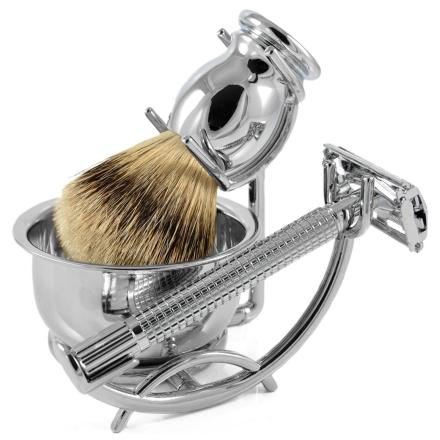 Silvertip Moderne Barbersæt - Trendhim