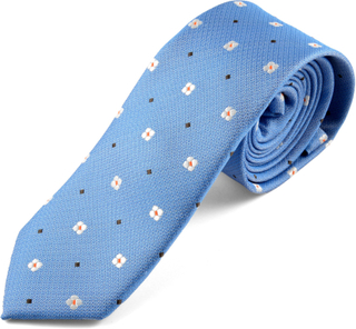 Blå Slips Prästkrage