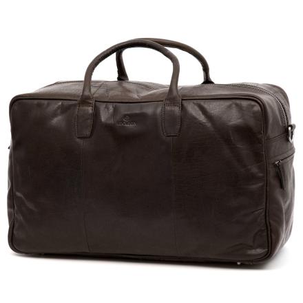 Mørkebrun Montreal Rejsetaske i Læder