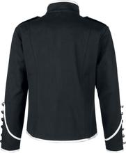 Banned Alternative - Military Drummer -Uniformjakke - svart, sølv