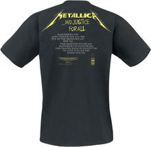 Metallica - ...And Justice For All - Tracklist -T-skjorte - svart