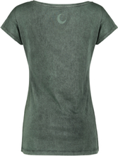 Harry Potter - Slytherin -T-skjorte - mørkegrønn