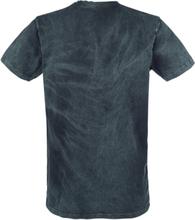 Outer Vision - Vintage -T-skjorte - petroleumsblå