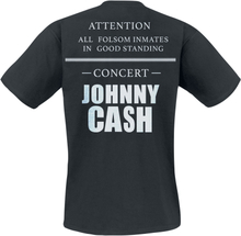 Johnny Cash - American Rebel -T-skjorte - svart