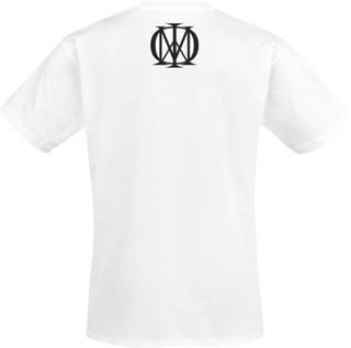 Dream Theater - Distance Over Time Album Cover -T-skjorte - hvit