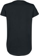 Ein Königreich für ein Lama - No Drama -T-skjorte - svart