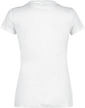 Mickey Mouse - Donald Duck -T-skjorte - hvit