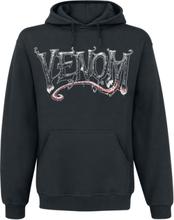 Venom (Marvel) - Furious Face -Hettegenser - svart