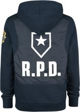 Resident Evil - Racoon Police Department -Hettegenser - blå-svart